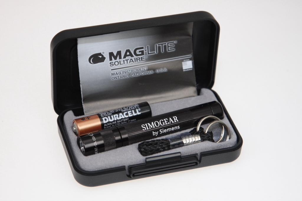 Bedruckte Maglite Taschenlampe