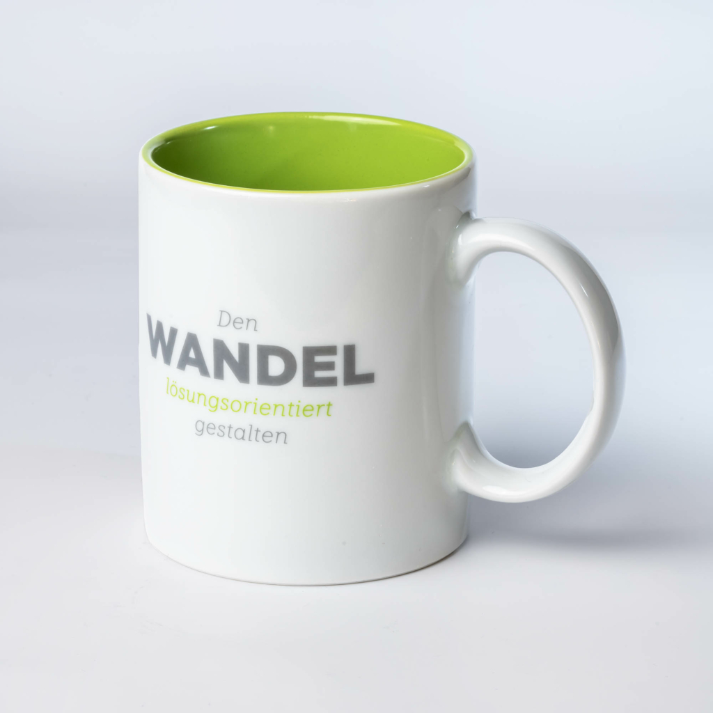 Bedruckte Tasse