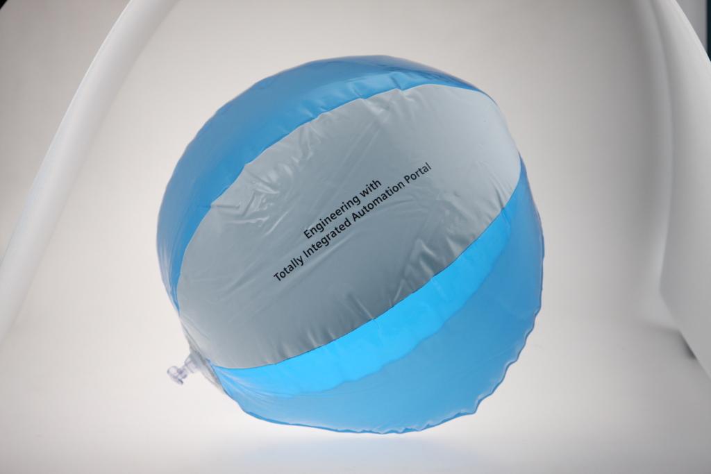 Bedruckter Wasserball